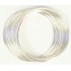 Beadalon Memory Wire Bracelet 0.5oz. Plated Silver